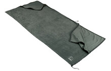 Nordisk Fleeceinlett blanket dark grey